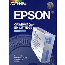 Epson C13S020147 2 Colour Ink Cartridge (Cyan/Light Cyan)