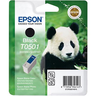 Epson C13T05014010 Black T0501 Ink Cartridge (15ml)