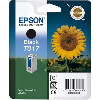Epson C13T01740110 T017 Black Ink Cartridge (17ml)