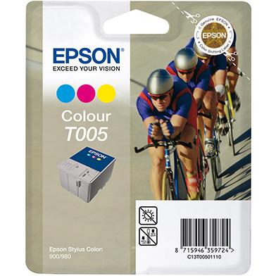 Epson C13T00501110 T005 3 Colour Ink Cartridge (67ml)