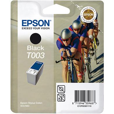 Epson C13T00301110 Black T003 Ink Cartridge (34ml)