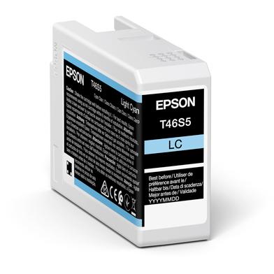 Epson C13T46S500 T46S5 Light Cyan UltraChrome Pro 10 Ink Cartridge (25ml)