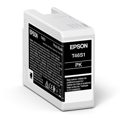 Epson C13T46S100 T46S1 Photo Black UltraChrome Pro 10 Ink Cartridge (25ml)
