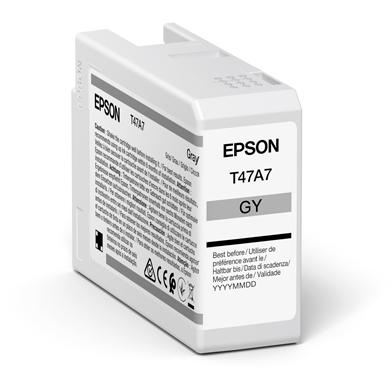 Epson C13T47A700 T47A7 Grey UltraChrome Pro 10 Ink Cartridge (50ml)