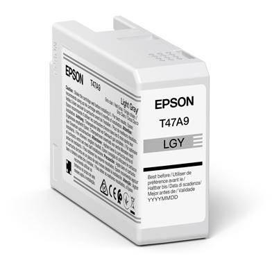 Epson C13T47A900 T47A9 Light Grey UltraChrome Pro 10 Ink Cartridge (50ml)
