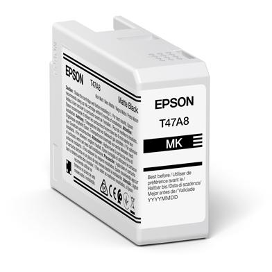 Epson C13T47A800 T47A8 Matte Black UltraChrome Pro 10 Ink Cartridge (50ml)