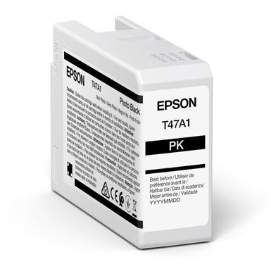 Epson C13T47A100 T47A1 Photo Black UltraChrome Pro 10 Ink Cartridge (50ml)