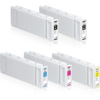 Epson EPST694INKVAL T694 Ink Cartridge Value Pack (700ml x 5)