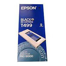 Epson C13T499011 Black T499 Ink Cartridge (500ml)