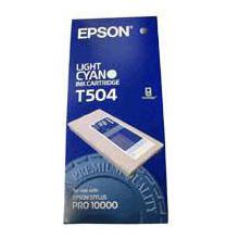 Epson C13T504011 Light Cyan T504 Ink Cartridge (500ml)