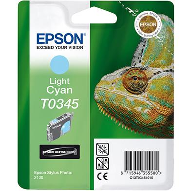 Epson C13T03454010 Light Cyan T0345 Ink Cartridge (17ml)