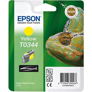 Epson C13T03444010 Yellow T0344 Ink Cartridge (17ml)