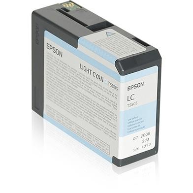 Epson C13T580500 Light Cyan T5805 Ink Cartridge (80ml)