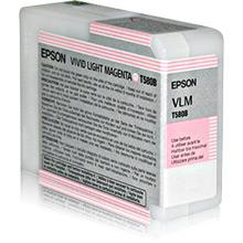 Epson C13T580B00 Vivid Light Magenta T580B Ink Cartridge (80ml)