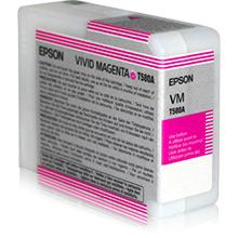 Epson C13T580A00 Vivid Magenta T580A Ink Cartridge (80ml)