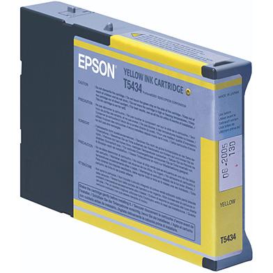 Epson C13T543400 Yellow Ink Cartridge (110ml)