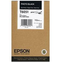 Epson C13T605100 Photo Black T6051 Ink Cartridge (110ml)