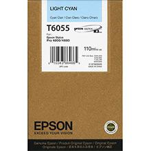 Epson C13T605500 Light Cyan T6055 Ink Cartridge (110ml)