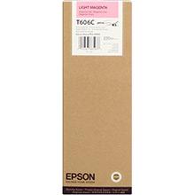Epson C13T606C00 Light Magenta T606C Ink Cartridge (220ml)