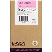 Epson C13T605C00 Light Magenta T605C Ink Cartridge (110ml)