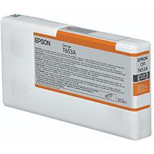 Epson C13T653A00 Orange T653A Ink Cartridge (200ml)
