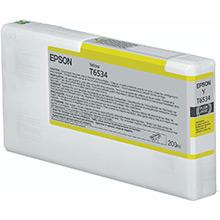 Epson C13T653400 Yellow T6534 Ink Cartridge (200ml)