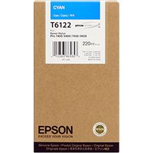 Epson C13T612200 Cyan T6122 Ink Cartridge (220ml)