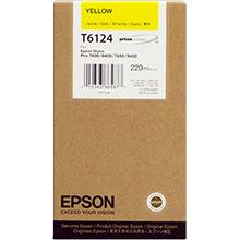 Epson C13T612400 Yellow T612 Ink Cartridge (220ml)