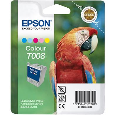 Epson C13T00840110 T008 5 Colour Ink Cartridge (46ml)