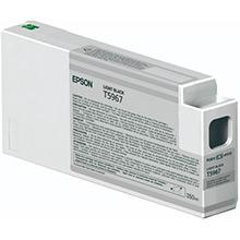 Epson C13T596700 Light Black T5967 Ink Cartridge (350ml)