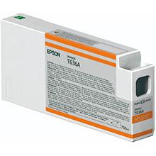 Epson C13T636A00 Orange T636A Ink Cartridge (700ml)