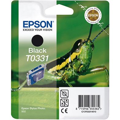 Epson C13T03314010 Black T0331 Ink Cartridge (17ml)