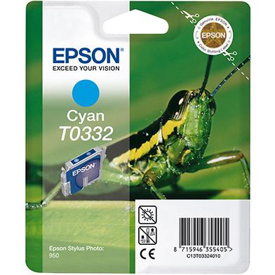 Epson C13T03324010 Cyan T0332 Ink Cartridge (17ml)