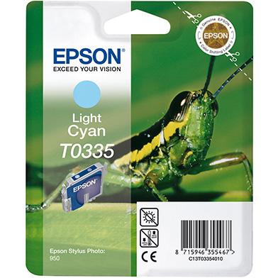 Epson C13T03354010 Light Cyan T0335 Ink Cartridge (17ml)