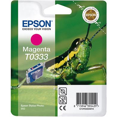 Epson C13T03334010 Magenta T0333 Ink Cartridge (17ml)
