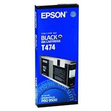 Epson C13T474011 Black T474 Ink Cartridge (220ml)