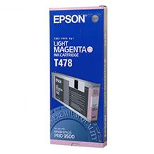 Epson C13T478011 Light Magenta T478 Ink Cartridge (220ml)