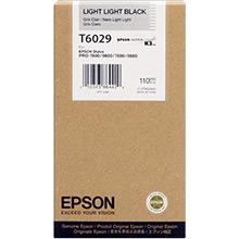 Epson C13T602900 Light Light Black T6029 Ink Cartridge (110ml)