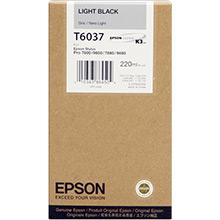 Epson C13T603700 Light Black T6037 Ink Cartridge (220ml)