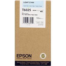 Epson C13T602500 Light Cyan T6025 Ink Cartridge (110ml)