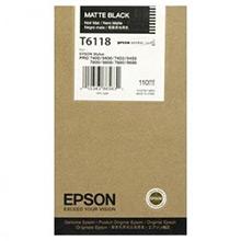 Epson C13T611800 Matte Black T6118 Ink Cartridge (110ml)