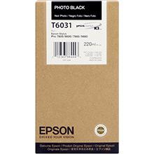 Epson C13T603100 Photo Black T6031 Ink Cartridge (220ml)