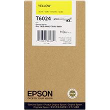 Epson C13T602400 Yellow T6024 Ink Cartridge (110ml)