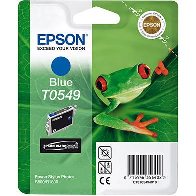 Epson C13T05494010 Blue T0549 Ink Cartridge (13ml)