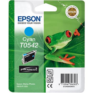 Epson C13T05424010 Cyan T0542 Ink Cartridge (13ml)