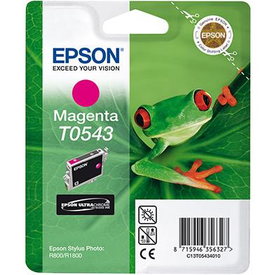 Epson C13T05434010 Magenta T0543 Ink Cartridge (13ml)