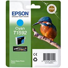 Epson C13T15924010 T1592 Cyan Ink Cartridge (17ml)