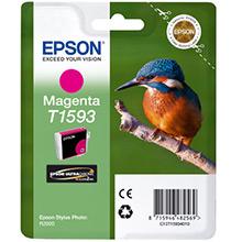 Epson C13T15934010 T1593 Magenta Ink Cartridge (17ml)
