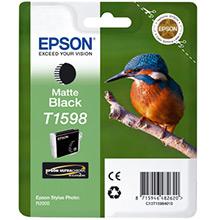 Epson C13T15984010 T1598 Matte Black Ink Cartridge (17ml)