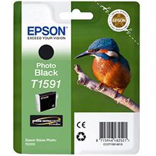 Epson C13T15914010 T1591 Photo Black Ink Cartridge (17ml)
